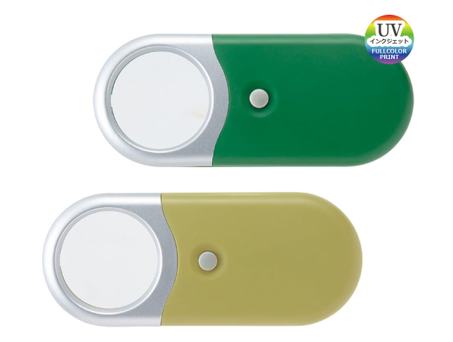 38-77 LEDライト付コンパクトルーペ
