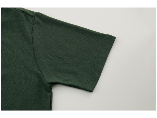 4.9ozカジュアルポロシャツ 画像 袖