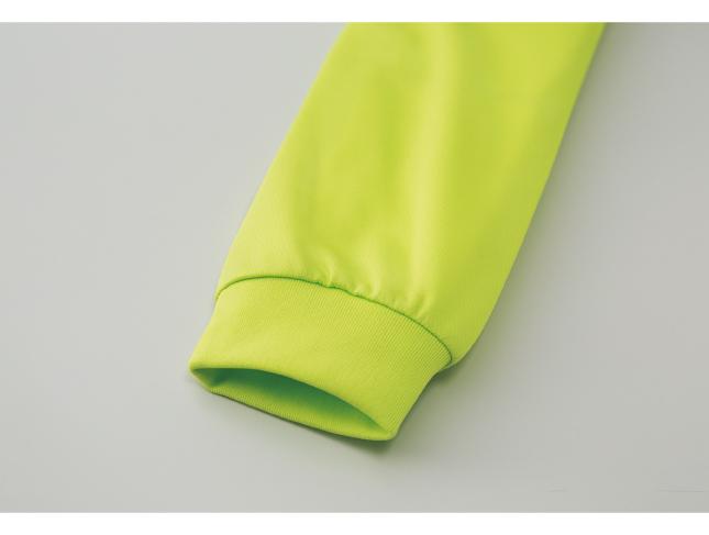 4.4ozドライロングスリーブTシャツ 画像 袖