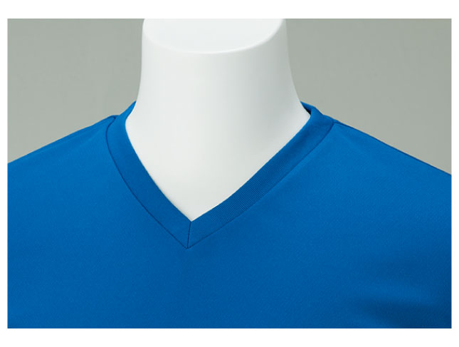 4.4ozドライVネックTシャツ 画像