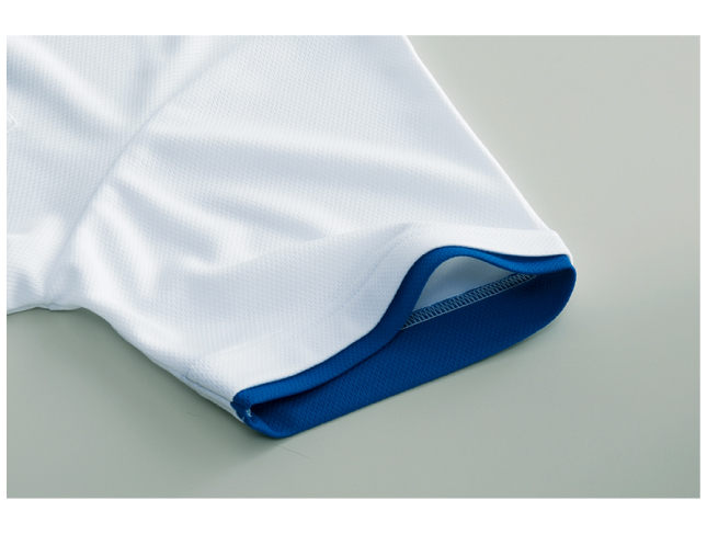4.4ozドライレイヤードポロシャツ 画像 袖