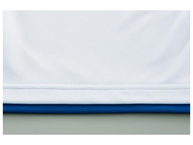 4.4ozドライレイヤードポロシャツ 画像 裾