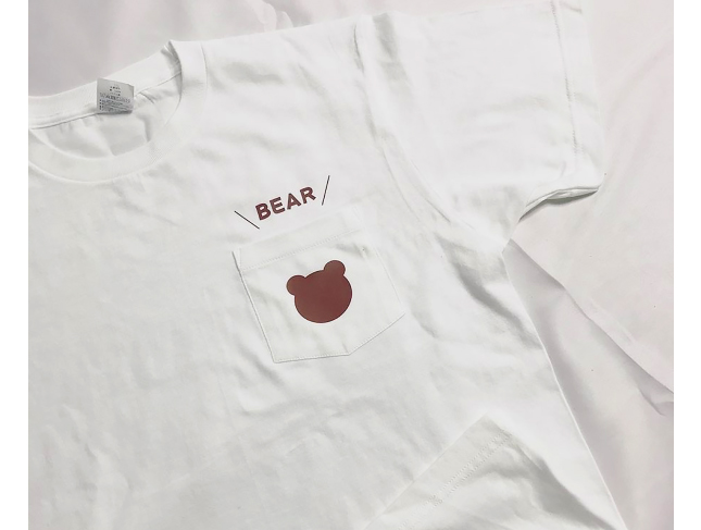 ★セミオーダープリント★ 109-PCT  5.6ozヘビーウェイトポケットTシャツ<単色プリント>